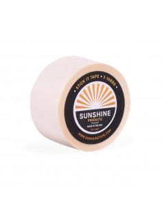 Sunshine stick-it hair tape...