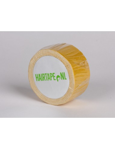 Tape voor haarwerk-pruik te plakken , toupettape . (rol 2.75 meter, 25 mm breed)